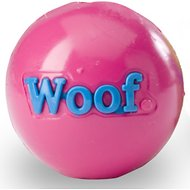 Planet Dog Orbee-Tuff Woof Ball Dog Toy, Pink
