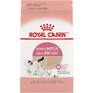 Royal Canin Mother & Babycat Dry Cat Food for Newborn Kittens, Pregnant & Nursing Cats, 3.5-lb bag