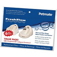 Petmate Fresh Flow Replacement Filters, 6 count