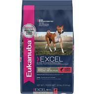Eukanuba Excel Adult Salmon Formula Dry Dog Food, 25-lb bag