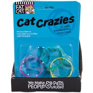 Fat Cat Crazies Playrings Cat Toy