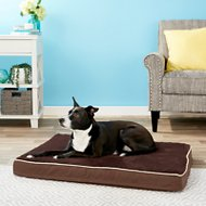 Petmate Plush & Jacquard Orthopedic Foam Pet Bed, Color Varies, Large