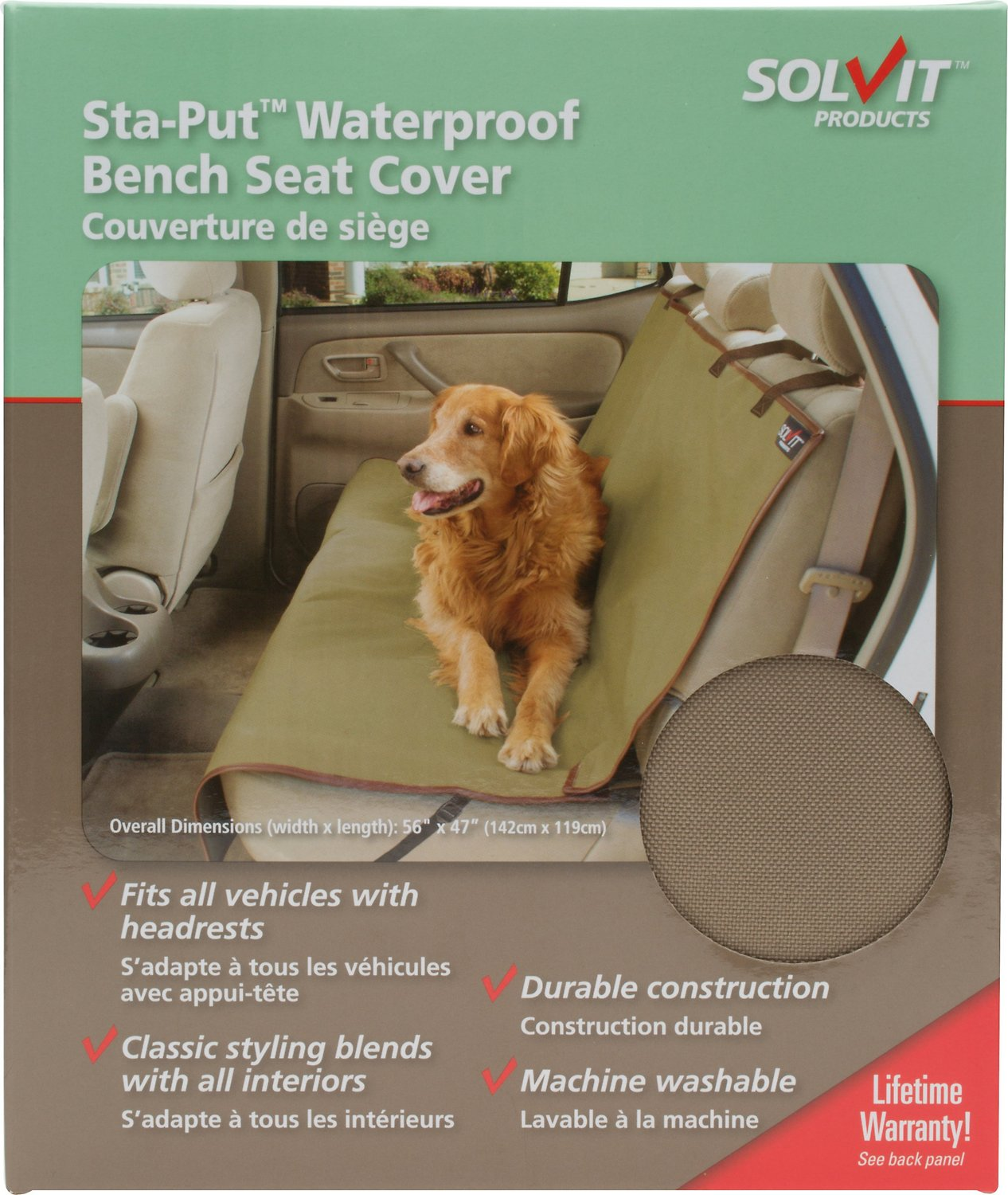 Stupendous Solvit Waterproof Sta Put Bench Seat Cover Ibusinesslaw Wood Chair Design Ideas Ibusinesslaworg