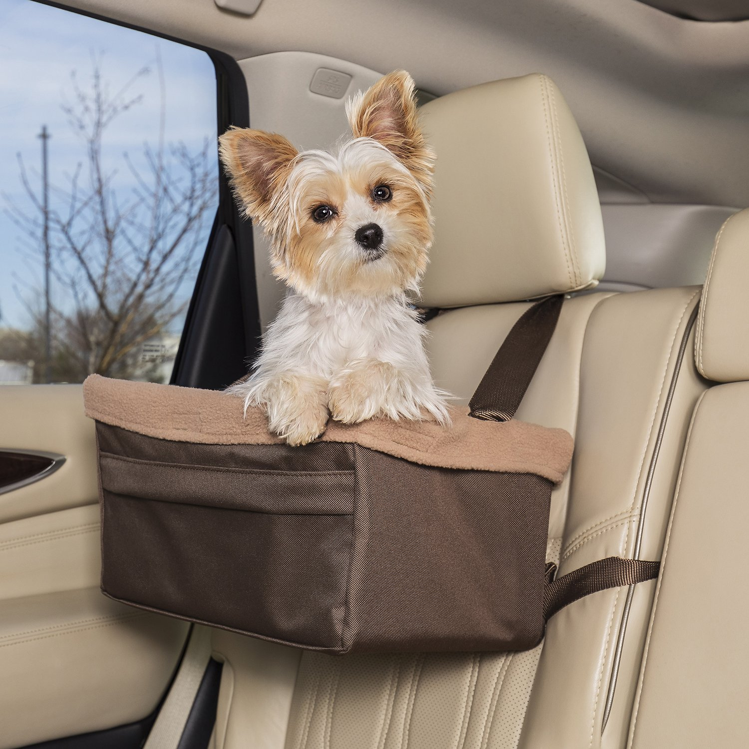 Solvit Standard Tagalong Pet Booster Seat Medium Chewy Com