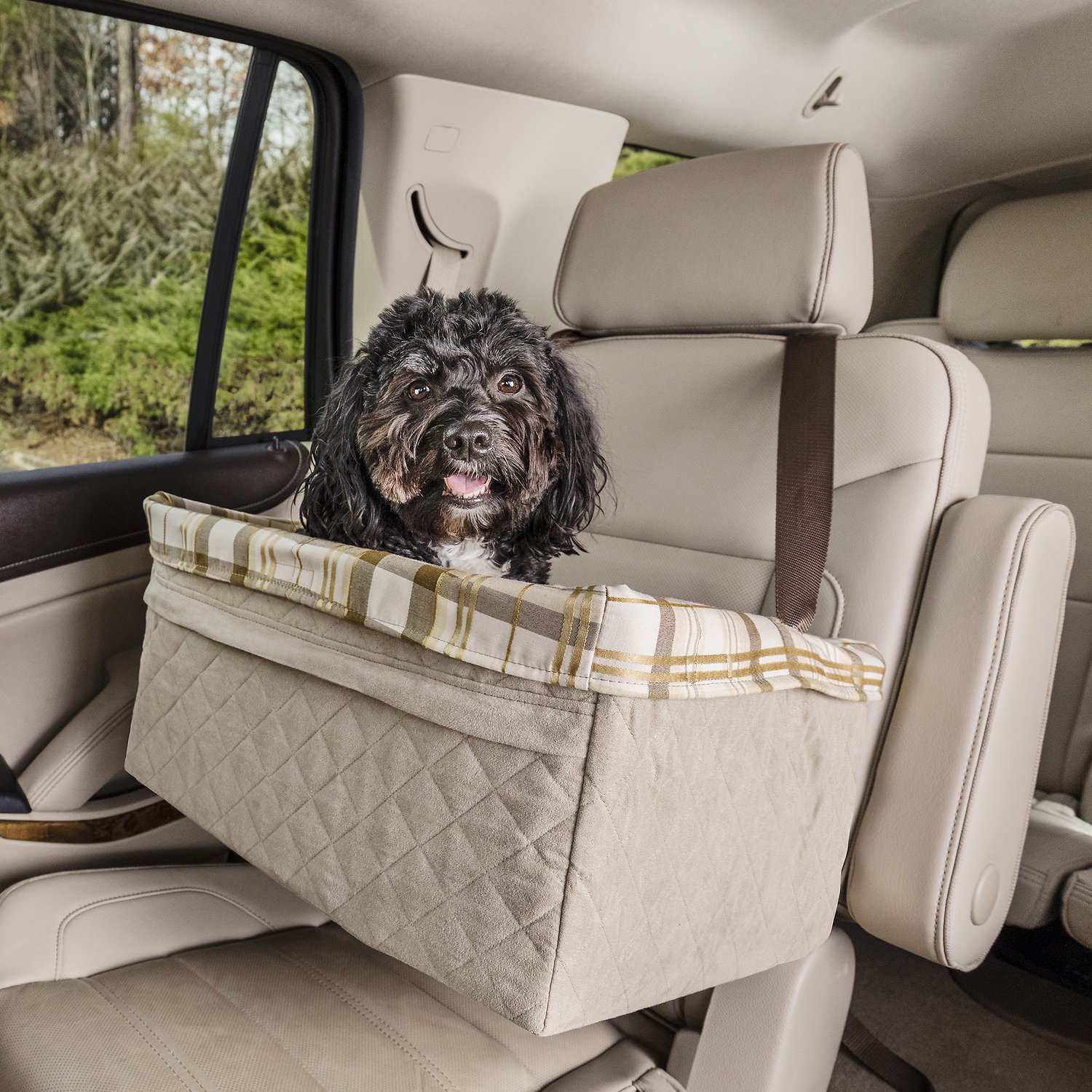 Solvit Deluxe Tagalong Pet Booster Seat X Large Chewy Com