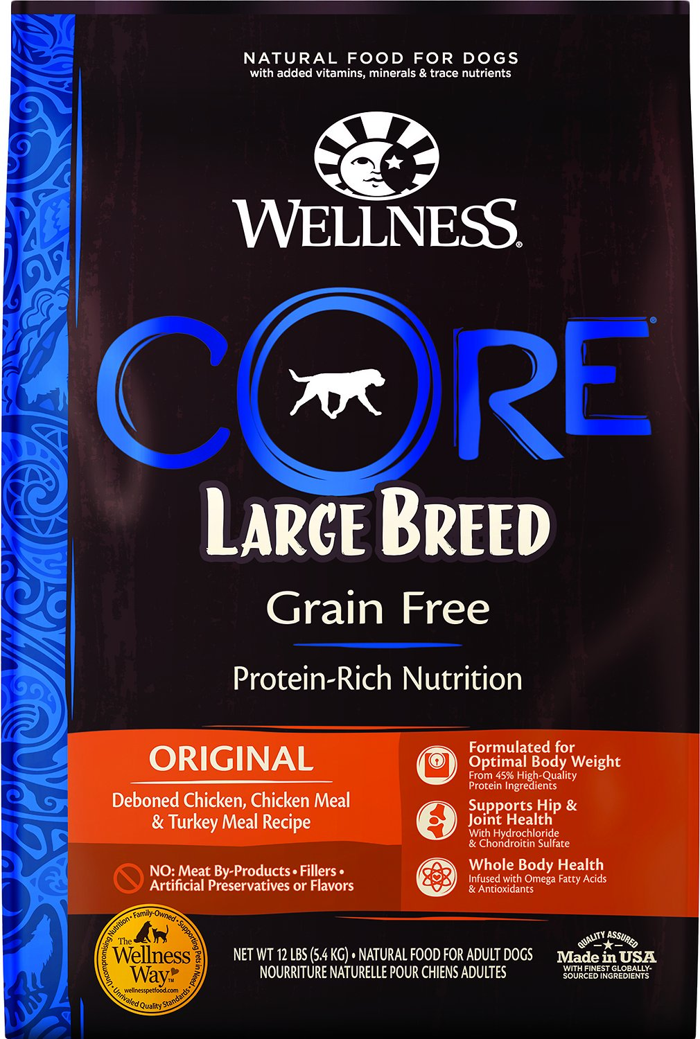 Wellness Core Grain Free Large Breed Chicken Amp Turkey