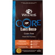 Wellness CORE Grain-Free Large Breed Formula Dry Dog Food, 26-lb bag