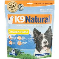 K9 Natural Chicken Feast Raw Grain-Free Freeze-Dried Dog Food, 0.77-lb bag