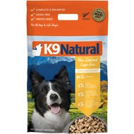 K9 Natural Chicken Feast Raw Grain-Free Freeze-Dried Dog Food, 2.75-lb bag