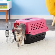 Petmate Compass Fashion Kennel, Pink, X-Small