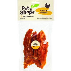 Pet 'n Shape Chik 'n Breast Dog Treats, 4-oz bag