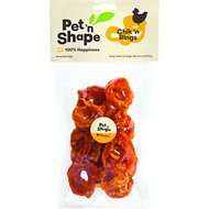 Pet 'n Shape Chik 'n Rings Dog Treats, 4-oz bag