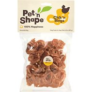 Pet 'n Shape Chik 'n Rings Dog Treats, 8-oz bag, 1 pack