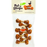 Pet 'n Shape Duck 'n Rice Dumbbells Dog Treats, 3-oz bag