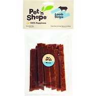 Pet 'n Shape Lamb Strips Dog Treats, 3-oz bag