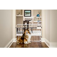 Carlson Pet Products Tuffy Expandable Gate with Pet Door