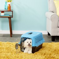 Petmate Compass Fashion Kennel, Blue, X-Small