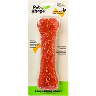 "Pet 'n Shape Long Lasting Chewz Chicken Bones 8"" Dog Treats, 1 pack"