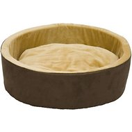 K&H Pet Products Thermo-Kitty Cat Bed, Mocha, Large