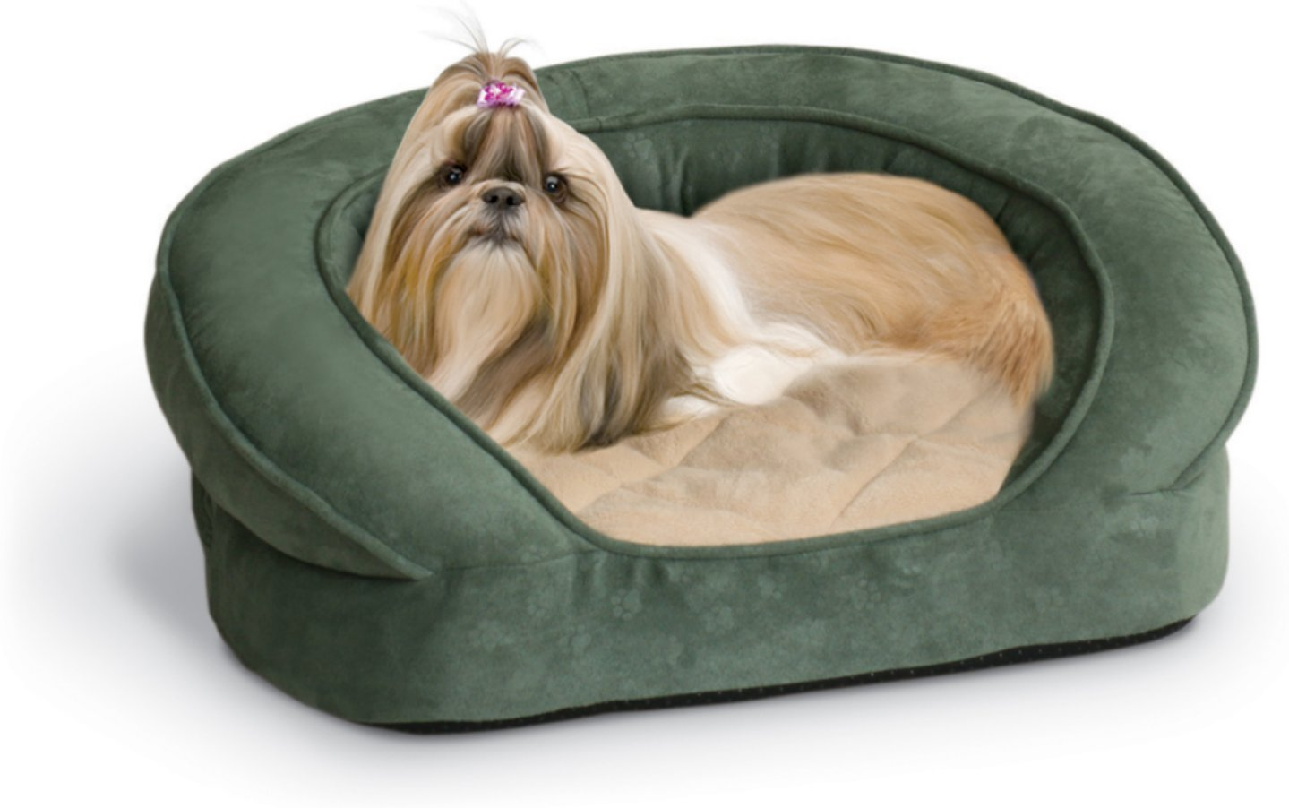 K H Pet Products Deluxe Ortho Bolster Sleeper Bed