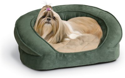 K&H Pet Products Deluxe Orthopedic Bolster Cat & Dog Bed