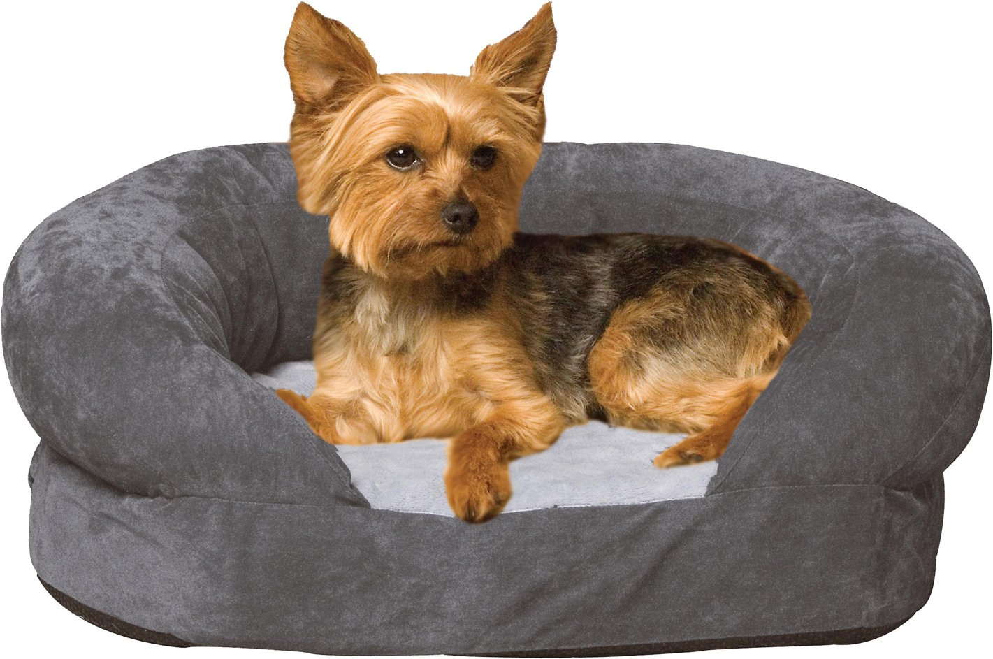 Pleasing Kh Pet Products Ortho Bolster Sleeper Pet Bed Gray Small Evergreenethics Interior Chair Design Evergreenethicsorg