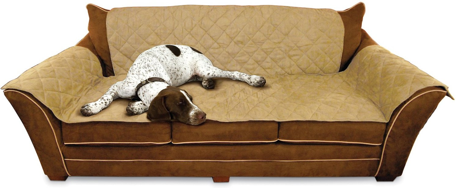 K Amp H Pet Products Furniture Cover For Couches Tan Chewy Com