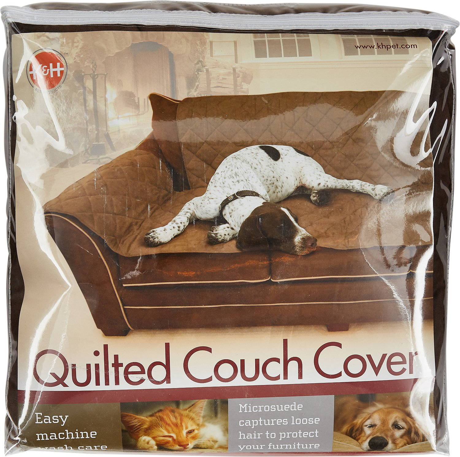 K&H Pet Products Furniture Cover for Couches Mocha Chewy
