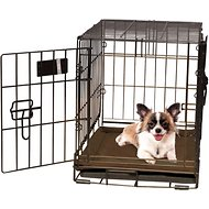 K&H Pet Products Self-Warming Pet Crate Pad, Mocha, 14 x 22 in
