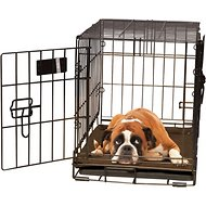 K&H Pet Products Self-Warming Pet Crate Pad, Mocha, 25 x 37 in