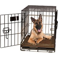 K&H Pet Products Self-Warming Pet Crate Pad, Mocha, 32 x 48 in