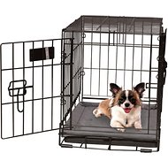 K&H Pet Products Self-Warming Pet Crate Pad, Gray, 14 x 22 in
