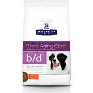 Hill's Prescription Diet b/d Brain Aging Care Chicken Flavor Dry Dog Food, 17.6-lb bag