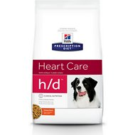 Hill's Prescription Diet h/d Heart Care Chicken Flavor Dry Dog Food, 17.6-lb bag