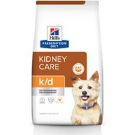 Hill's Prescription Diet k/d Kidney Care with Chicken Dry Dog Food, 8.5-lb bag