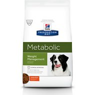 Hill's Prescription Diet Metabolic Weight Management Chicken Flavor Dry Dog Food, 27.5-lb bag