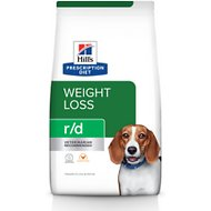 Hill's Prescription Diet r/d Weight Reduction Chicken Flavor Dry Dog Food, 27.5-lb bag