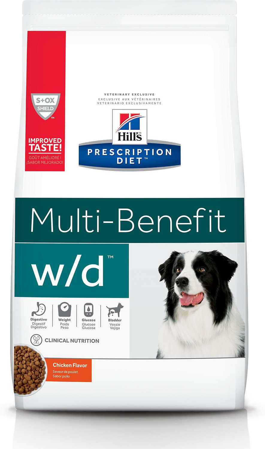 Hill's Pet Nutrition W/D Multi-Benefit Dry Dog Food - Best Dog Food for Weight Management