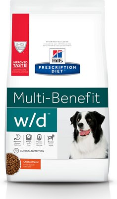 3. Hill's Prescription Diet W/D Dry Dog Food