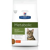 Hill's Prescription Diet Metabolic Weight Management Chicken Flavor Dry Cat Food, 8.5-lb bag