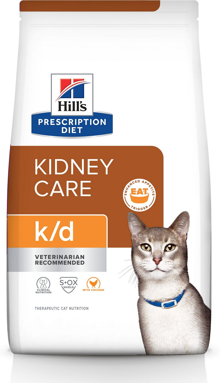 Hills Prescription Diet Kd Kidney Care With Chicken Dry Cat Food