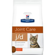 Hill's Prescription Diet j/d Joint Care Chicken Flavor Dry Cat Food, 8.5-lb bag