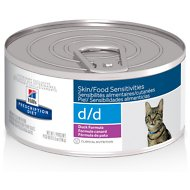 Hill's Prescription Diet d/d Skin/Food Sensitivities Duck Formula Canned Cat Food, 5.5-oz, case of 24