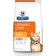 Hill's Prescription Diet c/d Multicare Urinary Care with Chicken Dry Cat Food, 8.5-lb bag