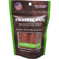 Prairie Dog Smokehouse Selections Chicken Jerky Strips Dog Treats, 4-oz bag