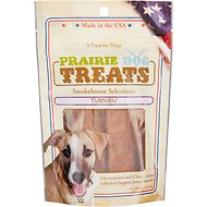 Prairie Dog Smokehouse Selections Turkey Jerky Strips Dog Treats, 4-oz bag