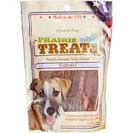 Prairie Dog Smokehouse Selections Turkey Jerky Strips Dog Treats, 12-oz bag