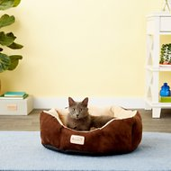 Armarkat Cozy Pet Bed, Mocha/Beige