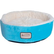 Armarkat Pet Bed, Sky Blue/Ivory