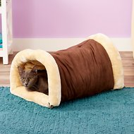 Armarkat Burrow Multiple Use Cat Bed/Mat, Mocha/Beige